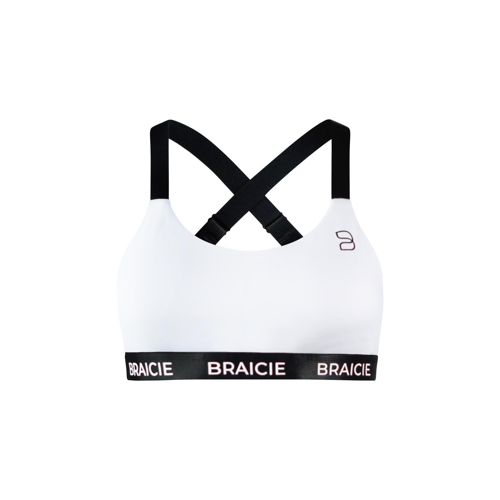 Braicie EMPOWER SPORT-BH IN WHITE-BLACK