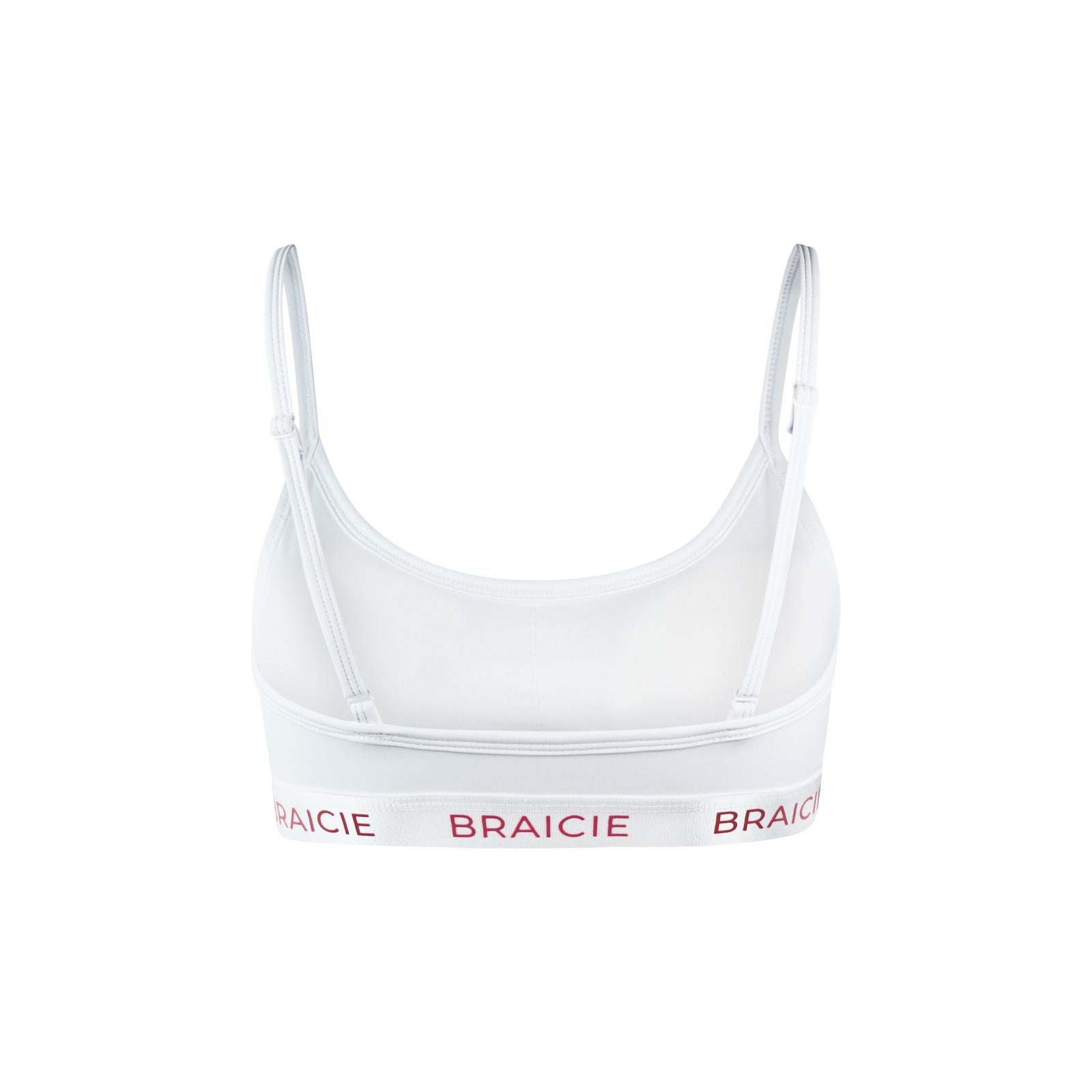 bracie Pure Sport-BH in white-rose