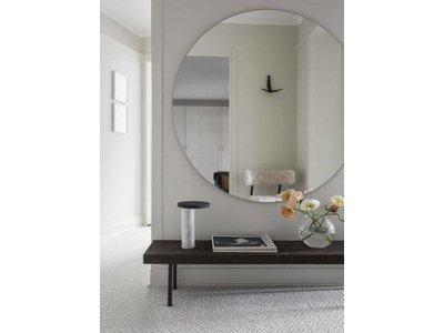 Ronde spiegel zonder kader