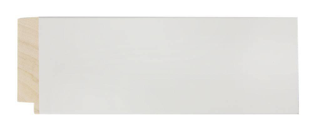 Milano moderne spiegel met brede witte kader