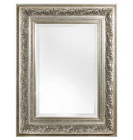 Genova - sfeervolle spiegel met barok zilveren kader