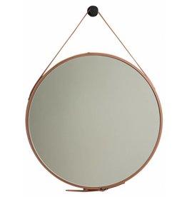 Rome - moderne ronde spiegel (bruin)