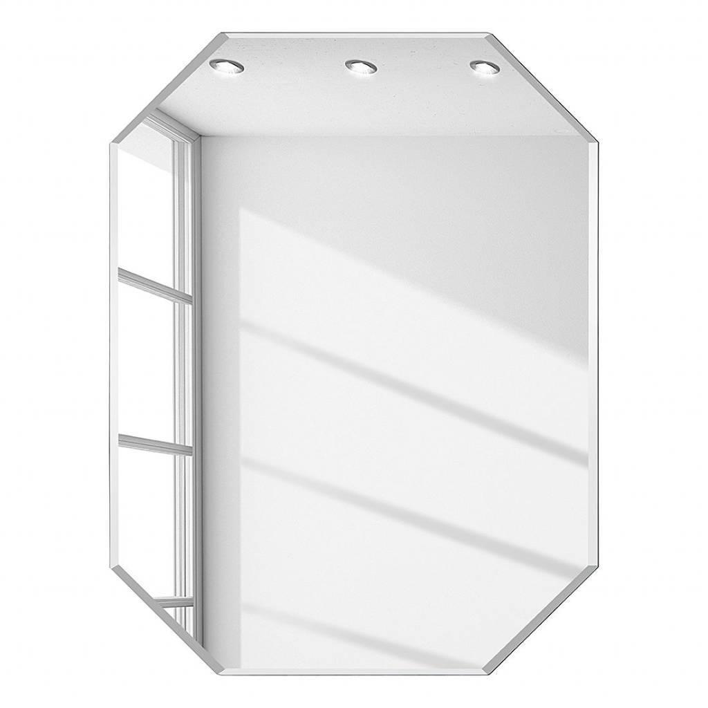 Diamant spiegel zonder kader