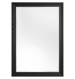 Bonalino betaalbare spiegel met barok zwarte kader