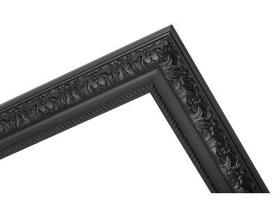 Palmi klassieke zwarte kader van hout