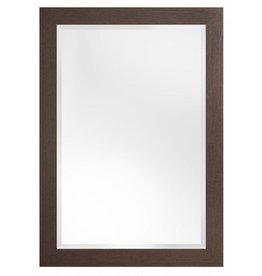 Sardinia Grande - spiegel met luxe donker houten kader