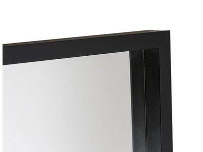 Veneto - design spiegel met diepe zwarte kader