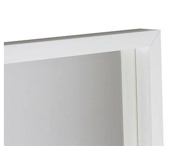 Veneto - design spiegel met diepe witte kader