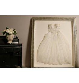Laat uw trouwjurk inkaderen - Barok Style