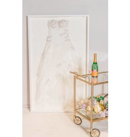 Laat uw trouwjurk inkaderen - Basic Style - White edition