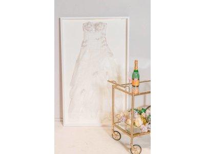 Laat uw trouwjurk inlijsten - Basic Style - White Edition