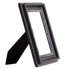 Messina - zwarte fotokader van hout