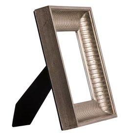 Prizzi - zilveren fotokader van hout