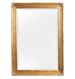 Verona - sfeervolle spiegel met klassieke gouden kader