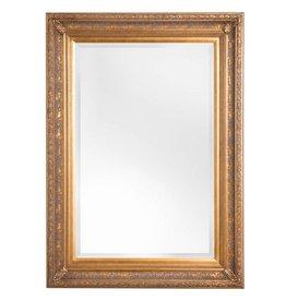 Antibes - spiegel met barok gouden kader van hout
