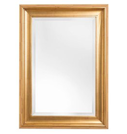 Foggia - spiegel met moderne gouden kader