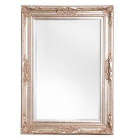 Nice - sfeervolle spiegel met barok zilveren kader