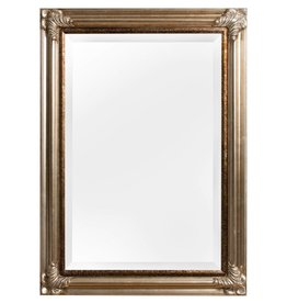 Valencia - spiegel met zilveren kader