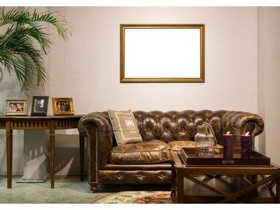 Perla Asti- gouden kader van hout
