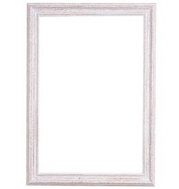 Bianco - witte houten kader