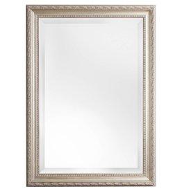 Pizzo - Italiaanse spiegel met wit zilveren kader