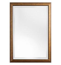Rieti - spiegel met bruin gouden kader