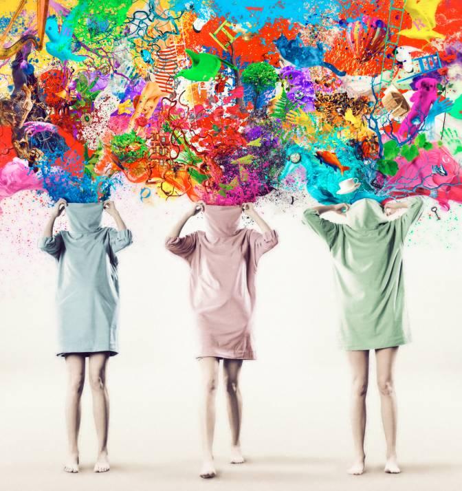 Kleurrijke Mensen