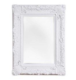 Palermo - spiegel met barok witte kader