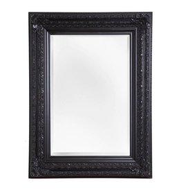 Fréjus - spiegel met zwarte barok kader
