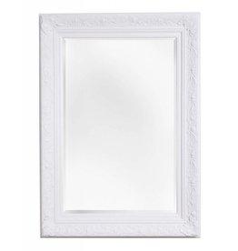 Turin - sfeervolle spiegel met barok witte kader