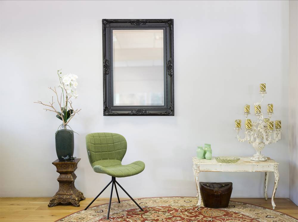 Nice - Zwart (met spiegel)