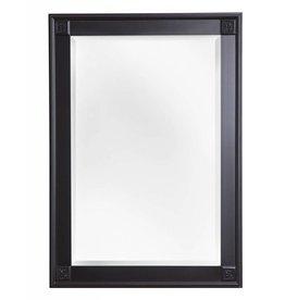 Palma - spiegel met unieke zwarte kader