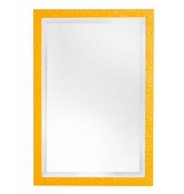 Metz - leuke spiegel met gele kader