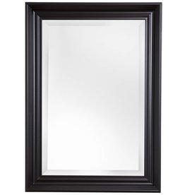 Brescia - spiegel met brede zwarte kader