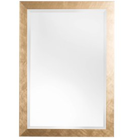 Ormea - spiegel met moderne gouden kader