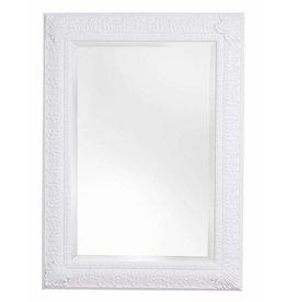 Marbella - spiegel met klassiek witte kader