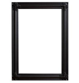 Valencia - zwarte klassieke kader van hout
