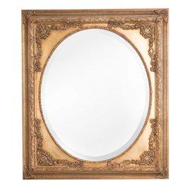 Teramo - klassieke gouden ovale spiegel