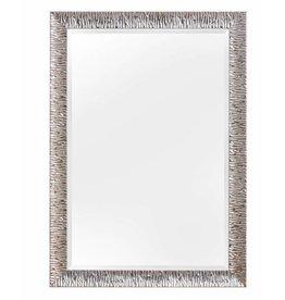 Kaapstad - moderne zilveren design spiegel