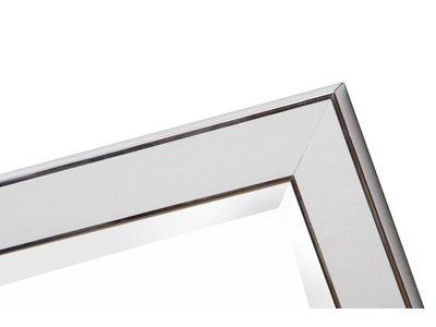 Hamburg - Wit met Zilver (met spiegel)