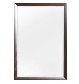 Corte - schuine design spiegel in RVS kleur