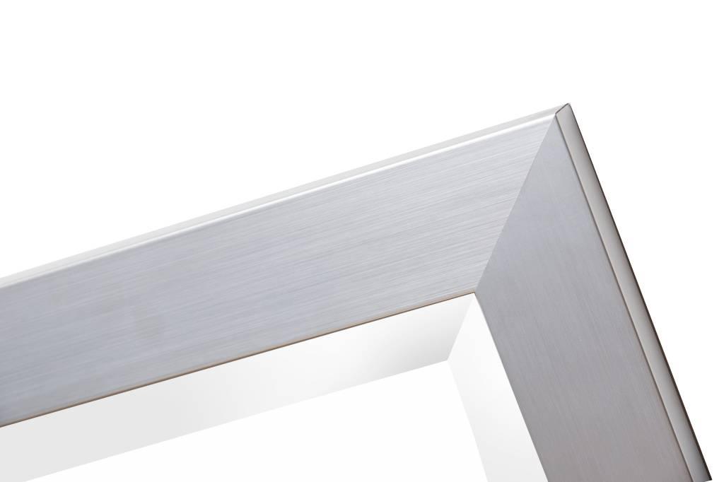 Bettola - Zilver (met spiegel)