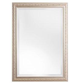 Palmi - facet-spiegel met barok zilveren kader