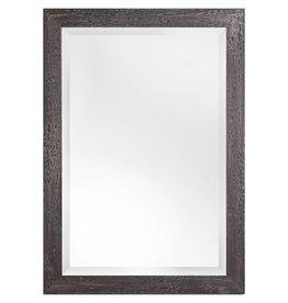 Bastia - spiegel met houten zwarte kader