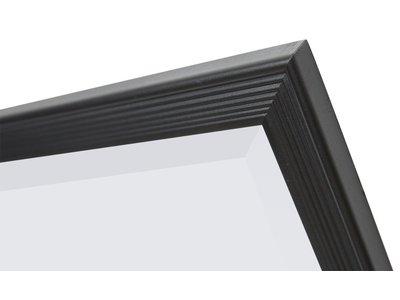 Helsinki - Zwart (met spiegel)