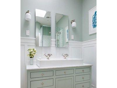 Spiegel zonder kader