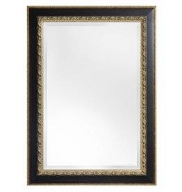 Forli - spiegel met donker bruine kader (lichte rand)
