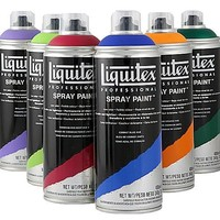 Liquitex spray paint spuitbussen