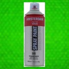 Spray paint permanent groen licht