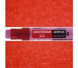 Amsterdam paintmarker 315 8-15mm rechthoekig pyrrolerood